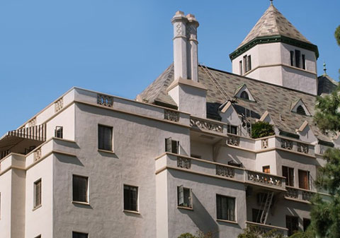 chateau marmont roof like tower of terror