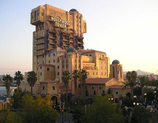 Tower of Terror in Disney California Adventure DCA