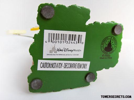 tower of terror memo holder replica souvenir bottom Disney stamp