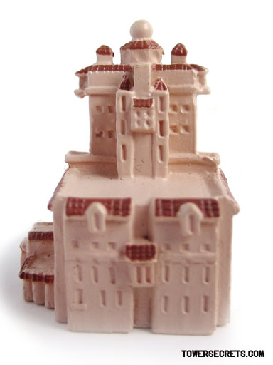Tower of Terror Disney Collector Packs Miniature back side