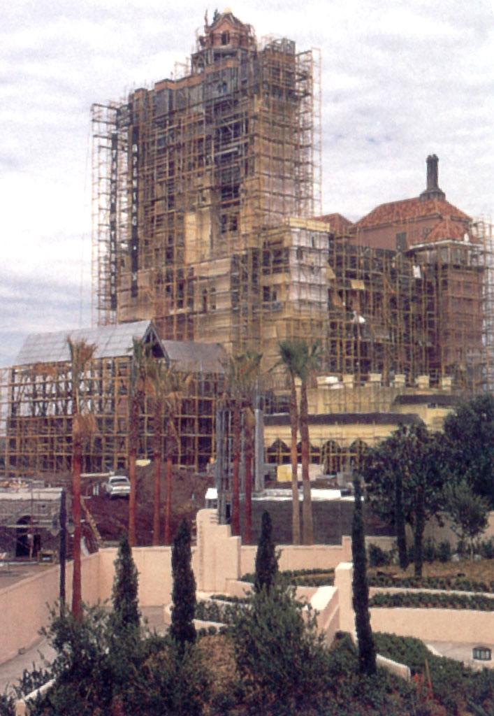 Tower of Terror MGM original construction