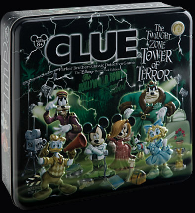 Disney Clue Tower of Terror game