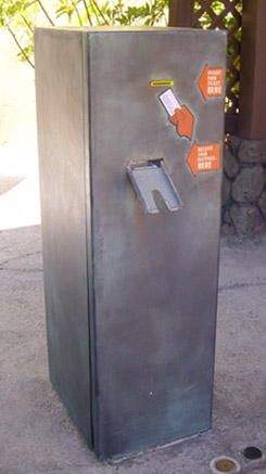 Hollywood Studios Tower of Terror FastPass machine