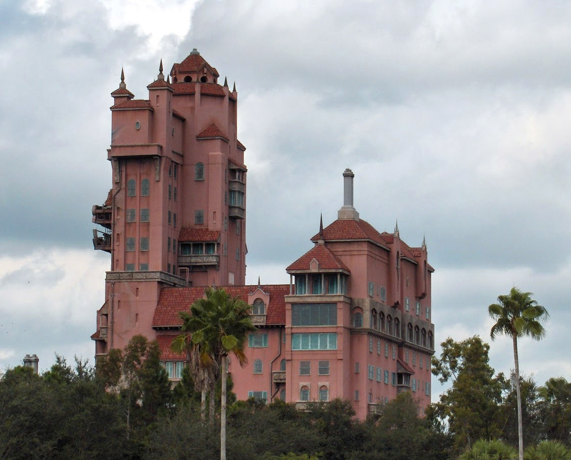 Hollywood Studios Tower of Terror backstage photo