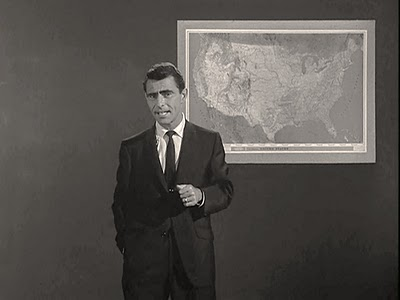 Tower of Terror Rod Serling map of the United States