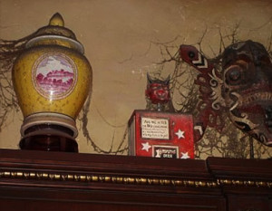 Mystic seer fortune telling box in the twilight zone tower of terror