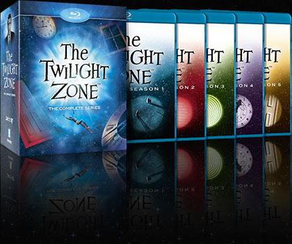 Twilight Zone blu ray box set